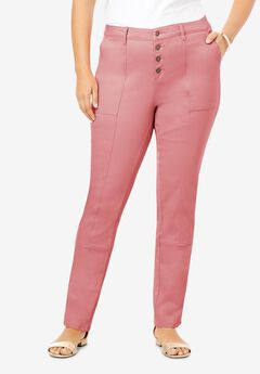 Stretch Chino Pant, DESERT ROSE