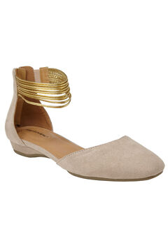 Aylin Flats by Comfortview®, NEW NUDE