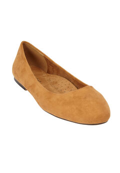 The Beth Flat by Comfortview®, BROWN MAPLE