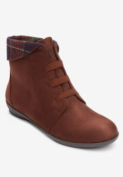 The Nella Shootie , BROWN PLAID