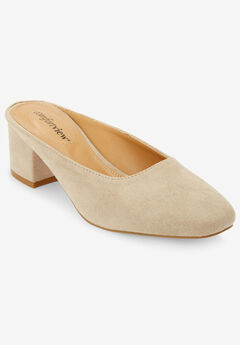 Judy Mules by Comfortview®, OYSTER PEARL