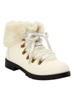 The Arctic Bootie , WHITE GOLD MULTI