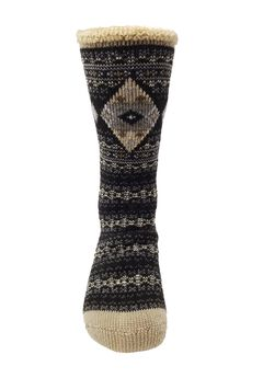 Diamond Fairisle Thermal Sock Socks,