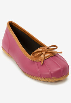 The Eliana Rain Flat By Comfortview®, RASPBERRY