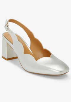 The Theresa Slingback by Comfortview®, SILVER
