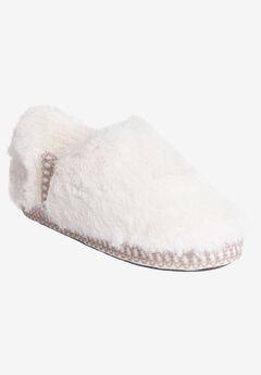 Joanna Fur Moccasin Slipper by Muk Luks,