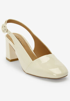 The Trista Slingback by Comfortview®, NUDE