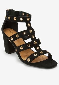 The Giada Sandal by Comfortview®, BLACK