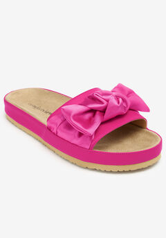 The Stassi Sandal by Comfortview®, VIVID PINK