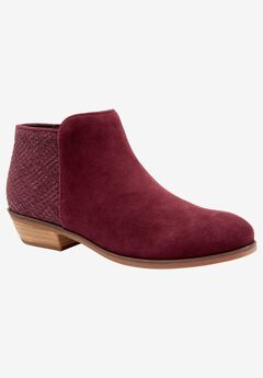 Rocklin Leather Bootie by SoftWalk®,