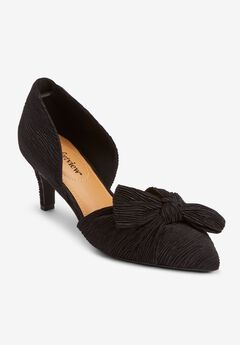The Ellie Pump , BLACK