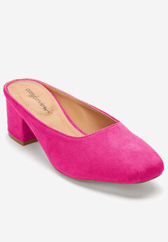 Judy Mules by Comfortview®, VIVID PINK