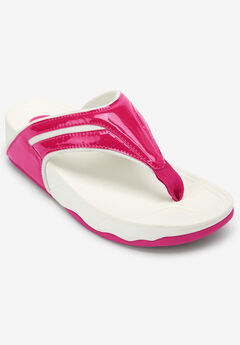 Sporty Thong Sandal by Comfortview®,