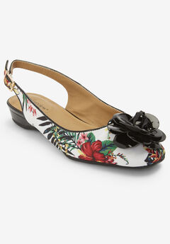 Jessa Fabric Slingback by Comfortview®,