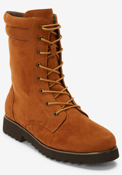 The Harmony Wide Calf Boot by Comfortview®, COGNAC