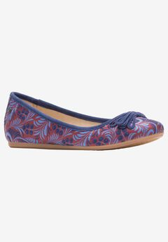 Heather Bow Ballet Flat by Hush Puppies,