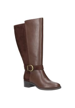 Victoria Plus Plus Wide Calf Boots by Easy Street,