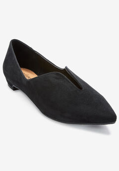 The Anya Flat by Comfortview®, BLACK