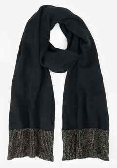 Glittery Knit Scarf,