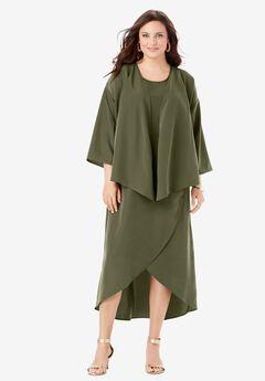 Flyaway Jacket Dress,