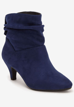 The Kourt Bootie by Comfortview®, EVENING BLUE