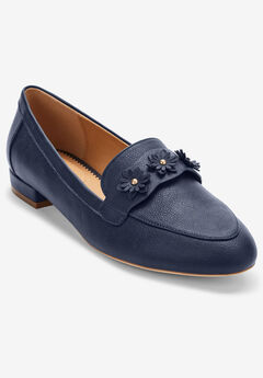 The Nellie Flat by Comfortview®, NAVY