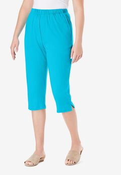 Soft Knit Capri Pant,