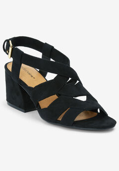 The Felipa Sandal by Comfortview®, BLACK