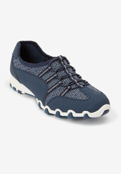 Tory Elastic Lace Sneaker by Comfortview,