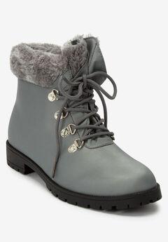The Vylon Hiker Bootie , GREY
