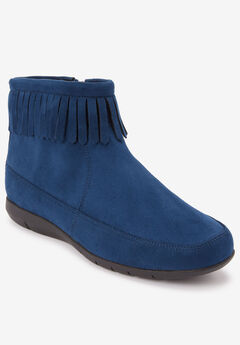 Marion Fringe Bootie by Comfortview,