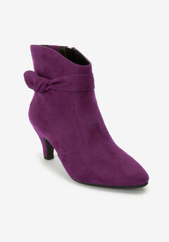 The Corrine Bootie , DARK BERRY