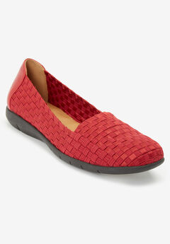 The Bethany Flat by Comfortview®, CLASSIC RED