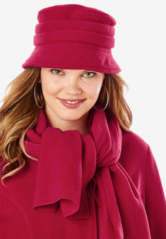 Fleece Hat, CLASSIC RED