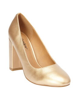 The Camile Pump by Comfortview®, GOLD