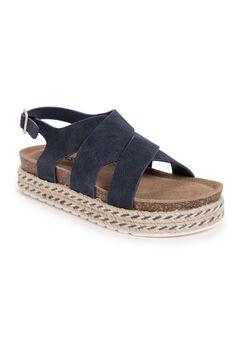 Beach Bingo Platform Sandals,