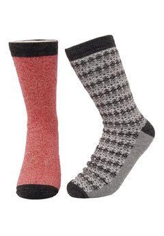 2 Pr Super Soft Polyester Thermal Insulated Socks,