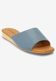 The Clara Sandal by Comfortview®, CHAMBRAY BLUE
