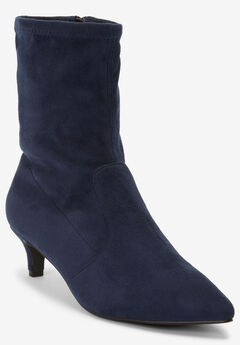 The Mena Bootie , NAVY