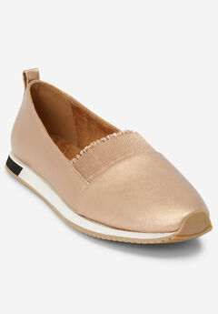The Brielle Sneaker by Comfortview®, ROSE GOLD