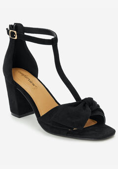 The Harlow Sandal by Comfortview®, BLACK