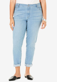 Boyfriend Jean by Denim 24/7®, LIGHT WASH