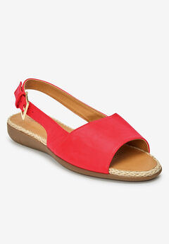 The Adele Sling Sandal , SOFT GERANIUM