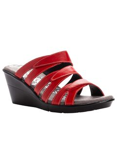 Lexie Wedge Slide Sandal by Prophet,