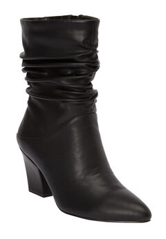 The Willa Wide Calf Bootie by Comfortview®,