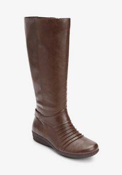 The Finley Wide Calf Boot By Comfortview®,