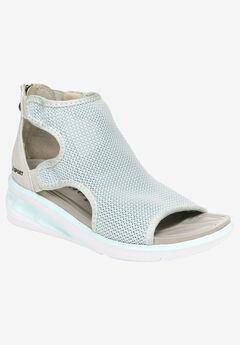Nadine Knit Sandal by JSPORT by Jambu® ,