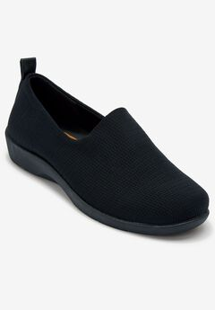 The Norah Flat by Comfortview®, BLACK
