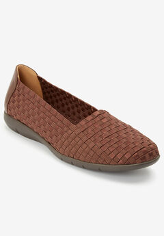 The Bethany Flat by Comfortview®, BROWN