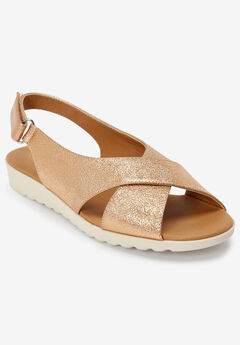 The Ondine Sandal by Comfortview®, COPPER